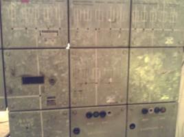 Alte Schalttafel
