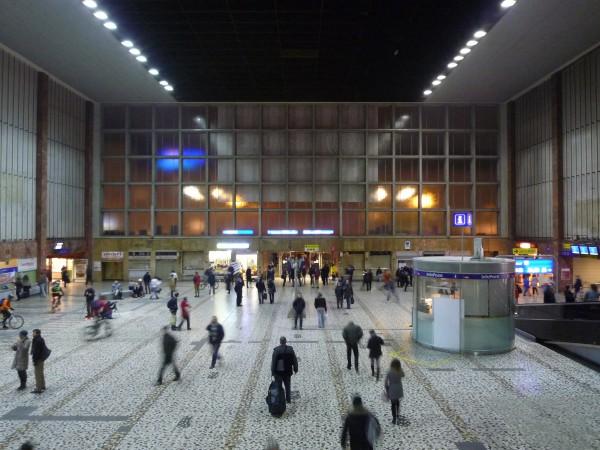 Bahnhofshalle im ehemaligen Wiener Südbahnhof